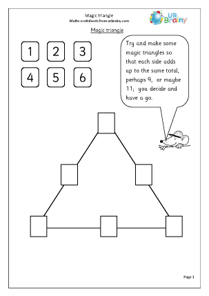 Area of triangle worksheet ks2