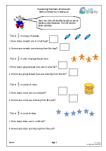 Fraction worksheets year 3 tes