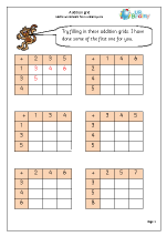 Addition grid revision