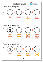 math worksheet : counting on and back maths worksheets for early reception age 4 5  : Maths Worksheets For Reception