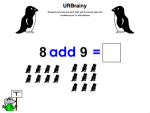 Use the word add up to 10 with pictures
