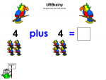 Using the word 'plus' with pictures
