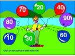 Two balloons that make 100