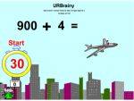 Use known number facts to add a single digit to a multiple of 100