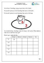 Beanbag and bucket