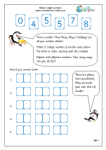 Make 2-digit numbers