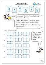 Make 2-digit numbers