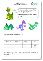 Dinosaur egg laying challenge