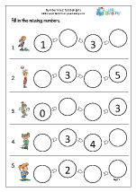 Number Lines (4) - Football