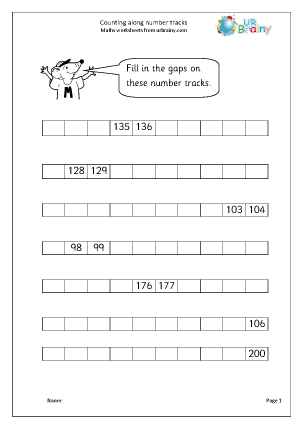 Common Worksheets » Maths Worksheets For Year 3 - Preschool and ...