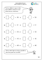 Revise understanding addition
