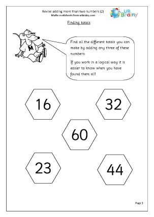 Revise Adding More Than Two Numbers (2)