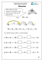 Moving towards Written Addition