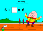 Complete Written Subtraction Sentences (1)