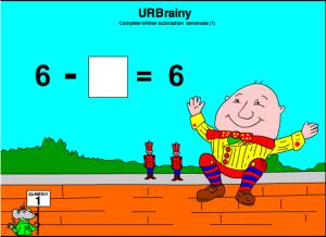 Complete Written Subtraction Sentences (1)