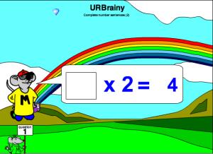 Complete Number Sentences B
