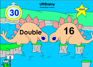 Double Larger Numbers