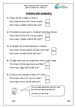 math worksheet : word problems with remainders division maths worksheets for year 3  : Division Word Problems With Remainders Worksheets