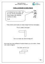 Make 2D shapes