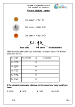 Decimals: Money and Measurement