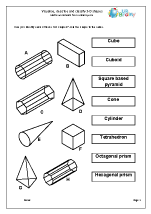 Visualise describe and classify 3D shapes