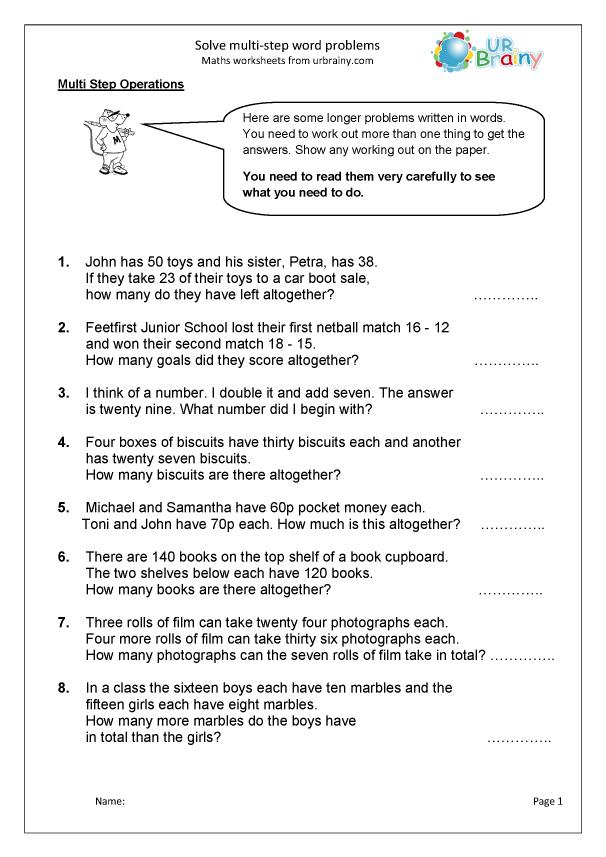 Free Math Word Problem Solver