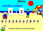 Begin to Know Addition Facts to 10
