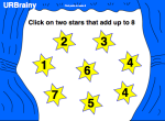 Pairs of Numbers which Make 8