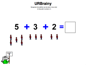 Add Three Numbers (Using Pictures to Count)