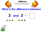 Use 'What is the difference between' up to 10 with Pictures
