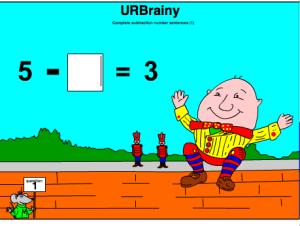 Complete Subtraction Number Sentences