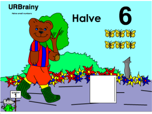 Preview of game  Halve Small Numbers