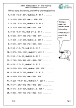 math worksheet : subtraction maths worksheets for year 5 age 9 10  : Relating Addition And Subtraction Worksheets