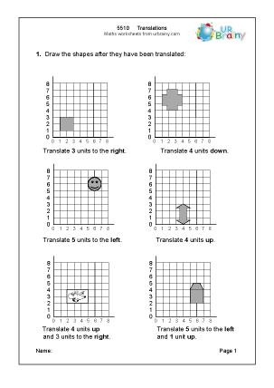 geometry translation worksheet geometry worksheets for practice and studygeometry mhshs. Black Bedroom Furniture Sets. Home Design Ideas