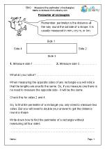 Measure the perimeter of rectangles