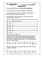 Use decimal notation