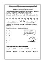 Round decimals (1)