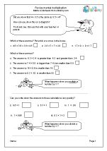 Revise mental multiplication