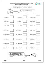 math worksheet : division maths worksheets for year 6 age 10 11  : Division Decimals Worksheets