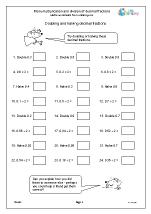 more multiplication and division of decimal fractions division maths worksheets for year 6 age. Black Bedroom Furniture Sets. Home Design Ideas