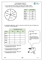math worksheet : statistics handling data maths worksheets for year 6 age 10 11  : Word Problems For Grade 6 Math Worksheets