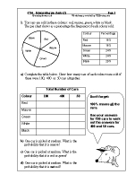 Statistics (Handling Data) Maths Worksheets for Year 6 (age 10-11)