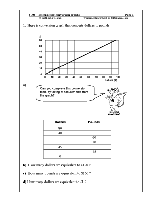 Printables Interpreting Graphs Worksheet interpreting graphs worksheets vintagegrn conversion graphs