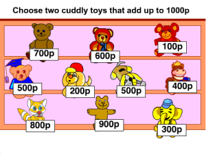 Pairs of Multiples of 100 that Make 1000