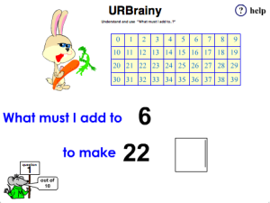 Understand and Use 'What Must I Add to..?' With a Number Grid