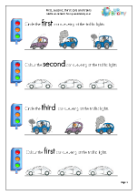 First second and third: cars