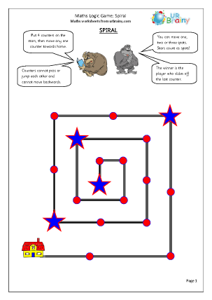 Preview of worksheet Spiral