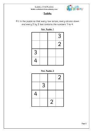 Sudoku First