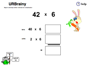 Begin to Develop Written Methods for Multiplication