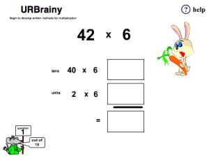 Begin to Develop Written Methods for Multiplication